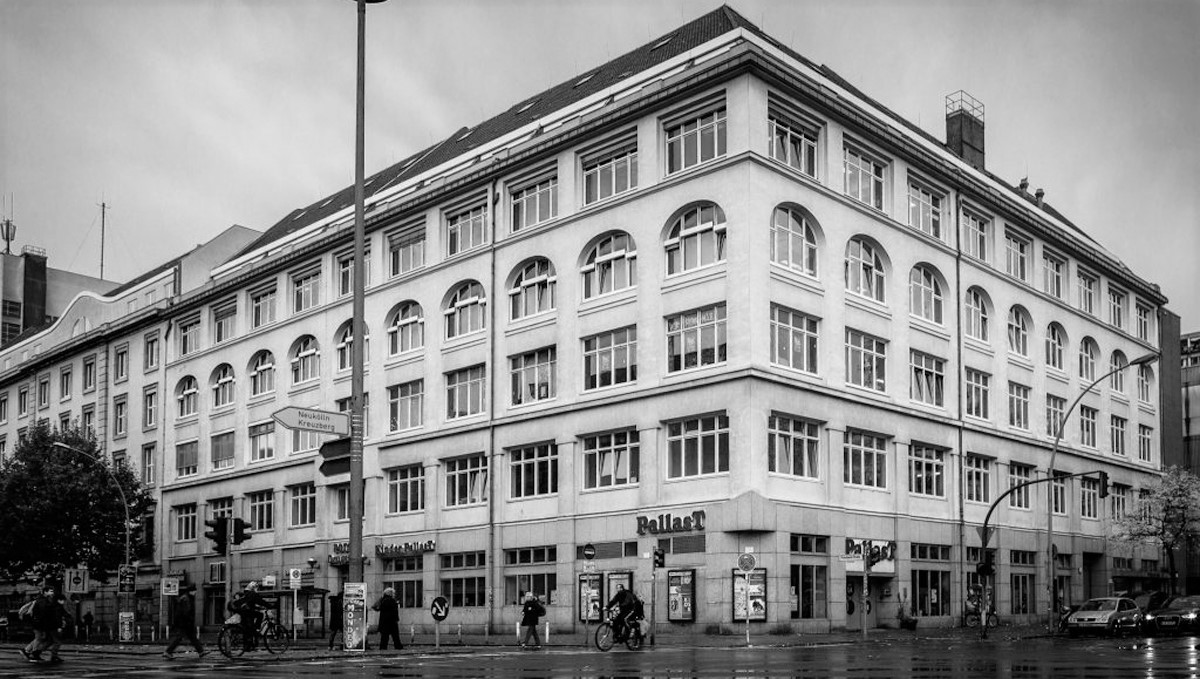 Building complex in the Potsdamer Straße, centre of Berlin.